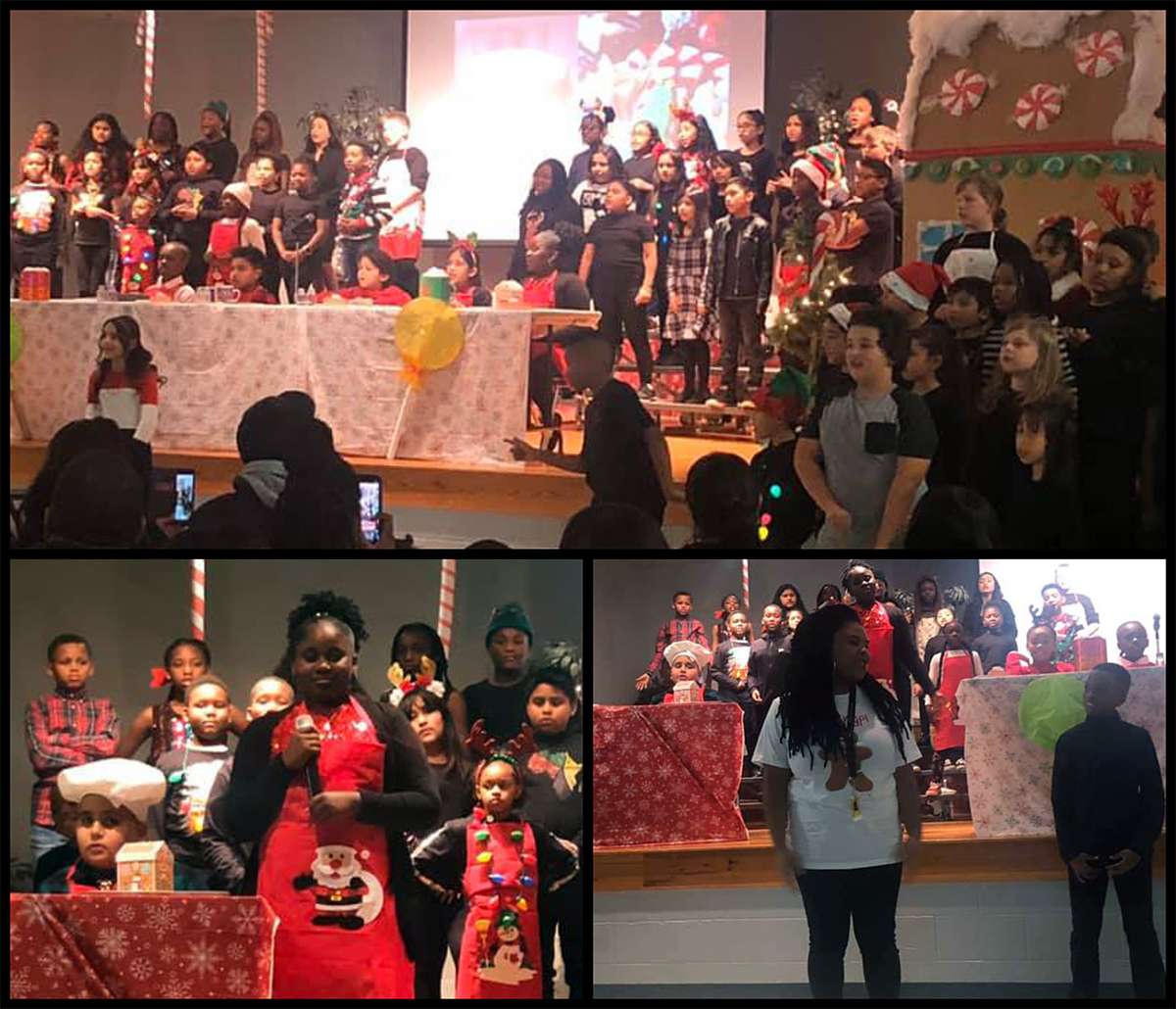 Our holiday program was a great success! Students did an amazing job singing and performing and the building was filled with cheer. Photos submitted