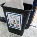 The Academy's Zero Waste Program helps teachers and students increase their recycling efforts.