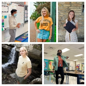 Academy at Middle Fork Student Teachers